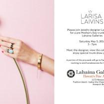 Jewelry Designer Larisa Laivins' Pre