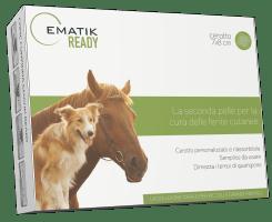 Cerotto veterinario per la cura delle ferite cutanee