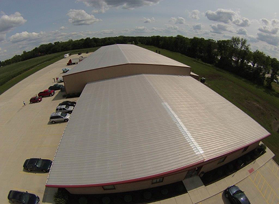Emax Compressor's 60,000 square foot new manufacturing facility located in Clayton, Ohio.