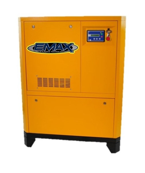 EMAX Industrial 25 HP 3 Phase Rotary Screw Air Compressor