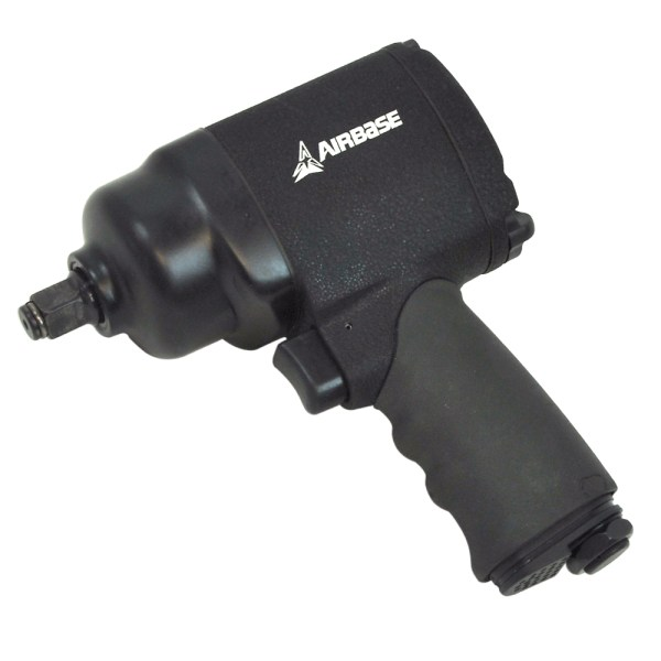 EATIWH5S1P- Airbase Industries Heavy Duty 1/2″ Drive Twin Hammer Air Impact Wrench