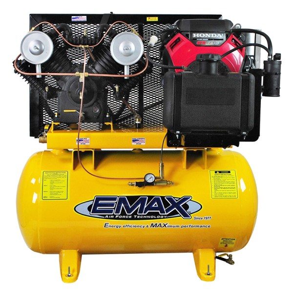 Emax Industrial 18hp 2 Stage V4 30 Gallon Truck mount gas drive