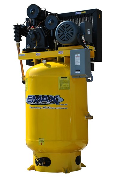 Emax Industrial Plus 10/15hp Three Phase 120 gallon Vertical Air Compressor