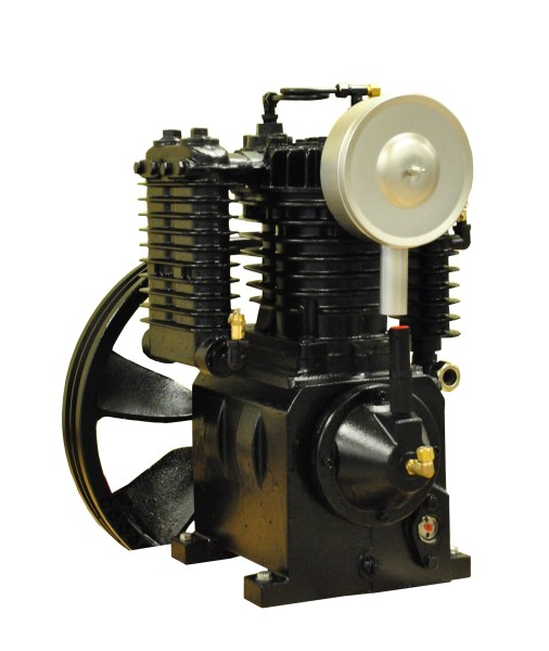 Airbase Industries 5hp 2 Stage 24 CFM Reciprocating Air Compressor Pump