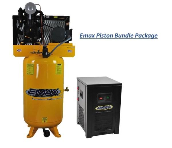 Piston Compressor with Dryer Bundles