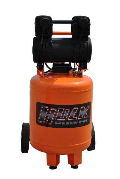 New 2hp 10 Gallon Hulk Silent Air Portable Compressor