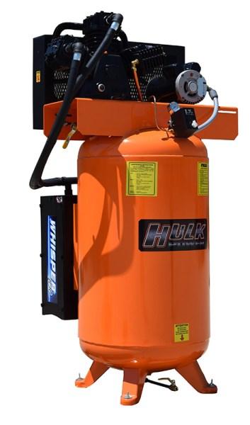 New Hulk Silent Air 5hp 80 Gallon Air Compressor