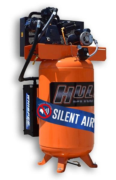 New Hulk Silent Air 5hp 80 Gallon Air Compressor-Available April 2018