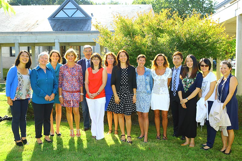 enseignants de l'école de management de Bretagne