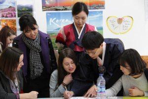 étudiants en asie