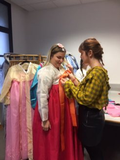 Essayage des kimonos
