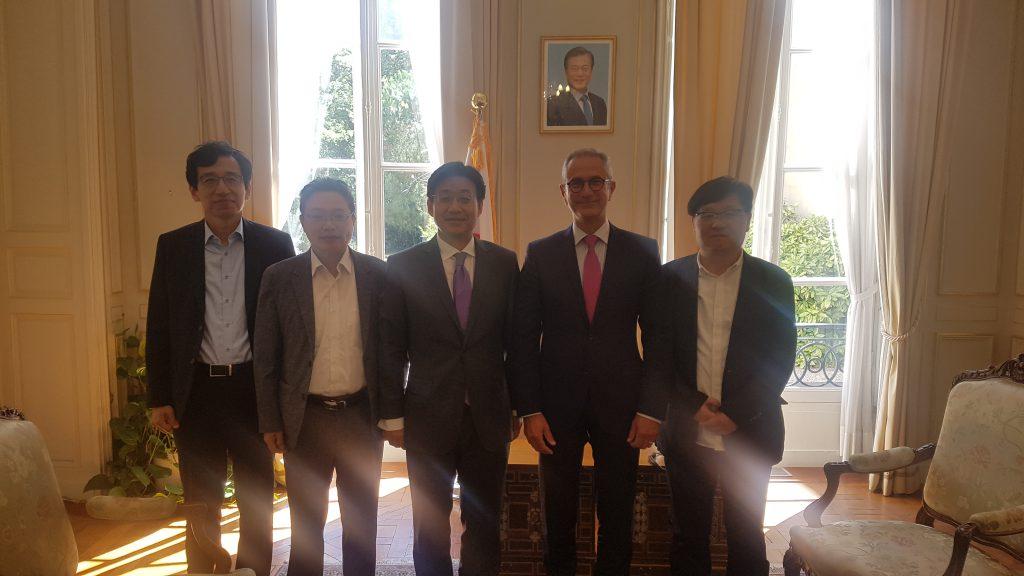 EMBA a l'ambassade de coree
