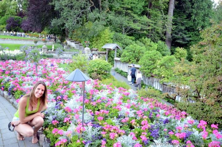 The Butchart Gardens Italian Garden no verao
