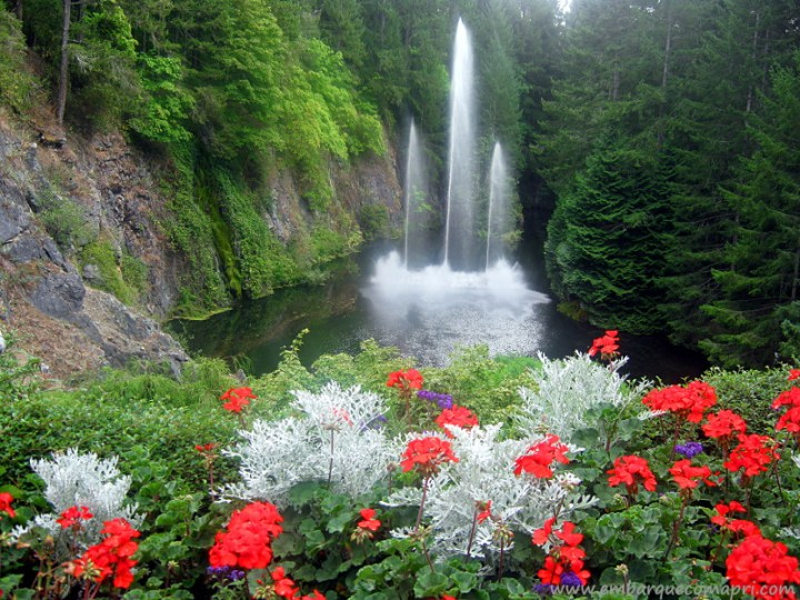 The Butchart Gardens Ross Fountain
