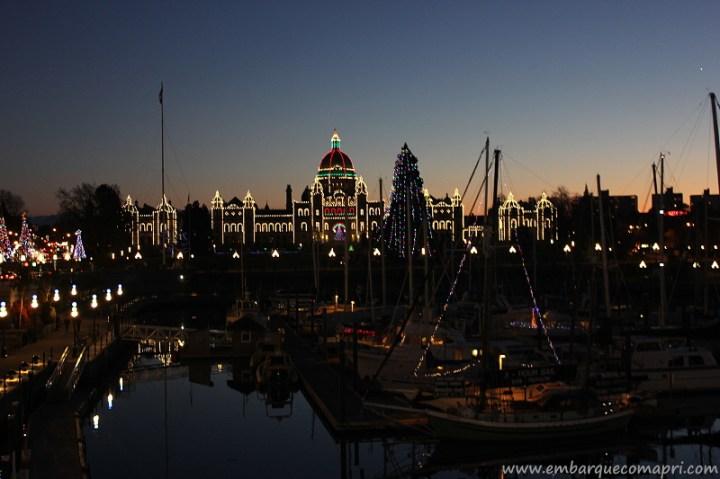 Eventos Natalinos em Victoria_Marine Light Up