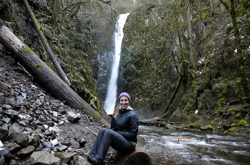 cachoeiras na ilha de vancouver