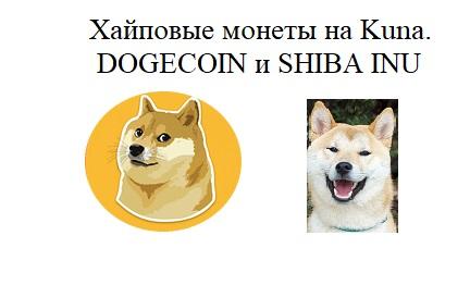 Хайповые монеты на KUNA. GOGECOIN SHIBA INU