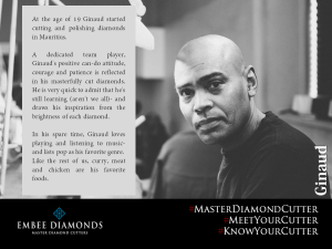 Master Diamond Cutter: Ginaud