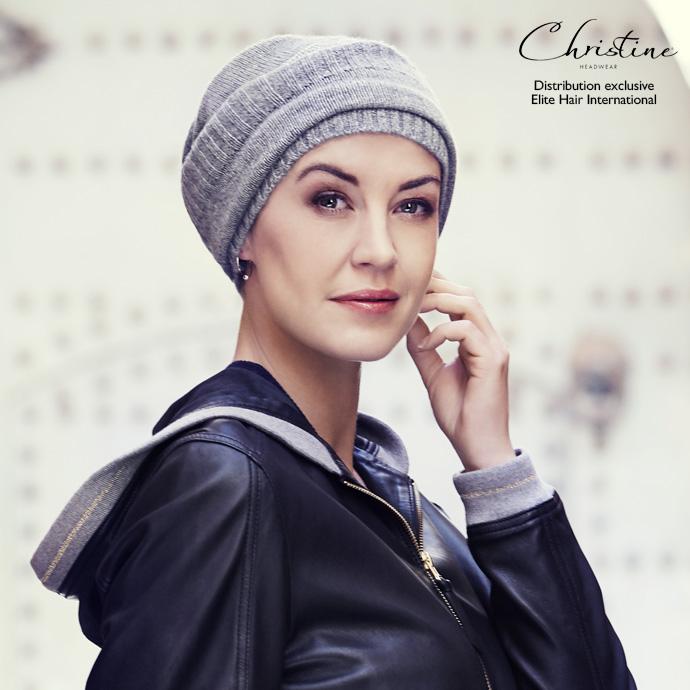 Bonnet Cachemire gris clair