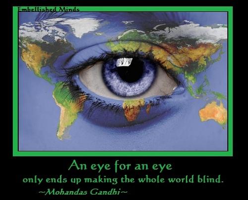 Gandhi Eye Eye Quotes