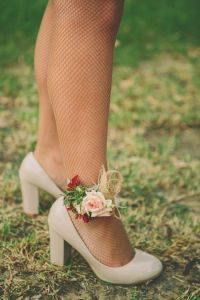 ankle corsage