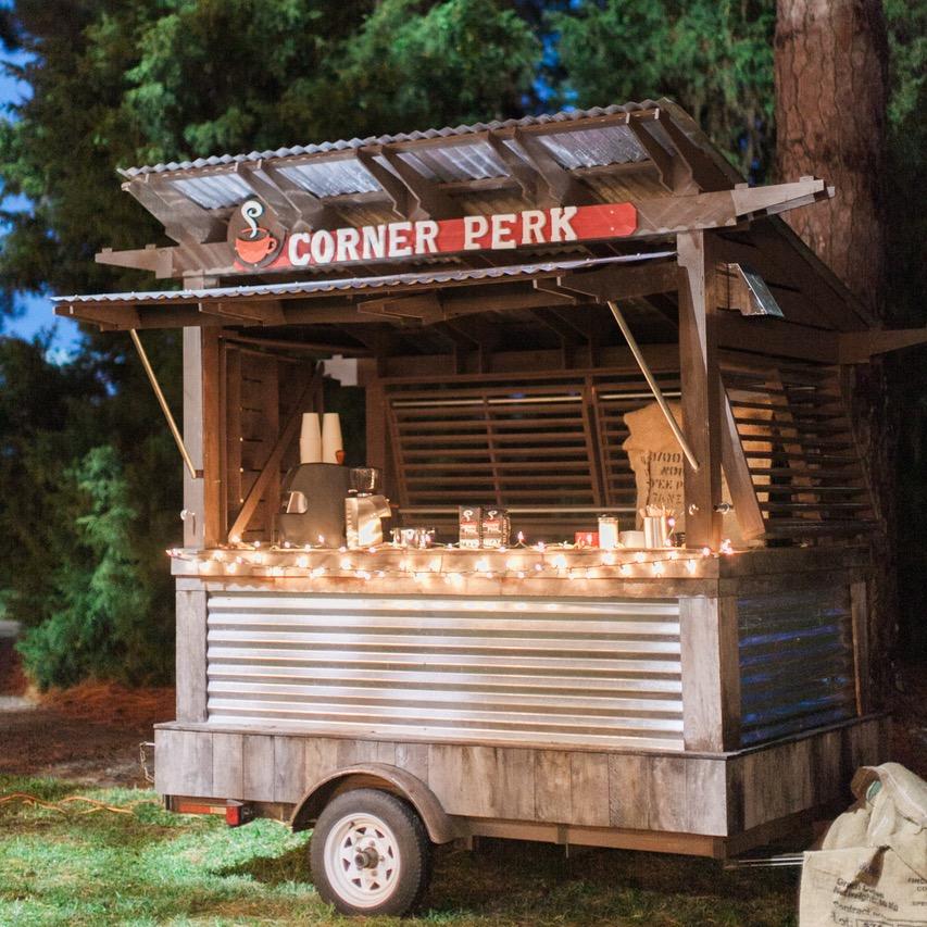 Embellished events wedding coffee cart