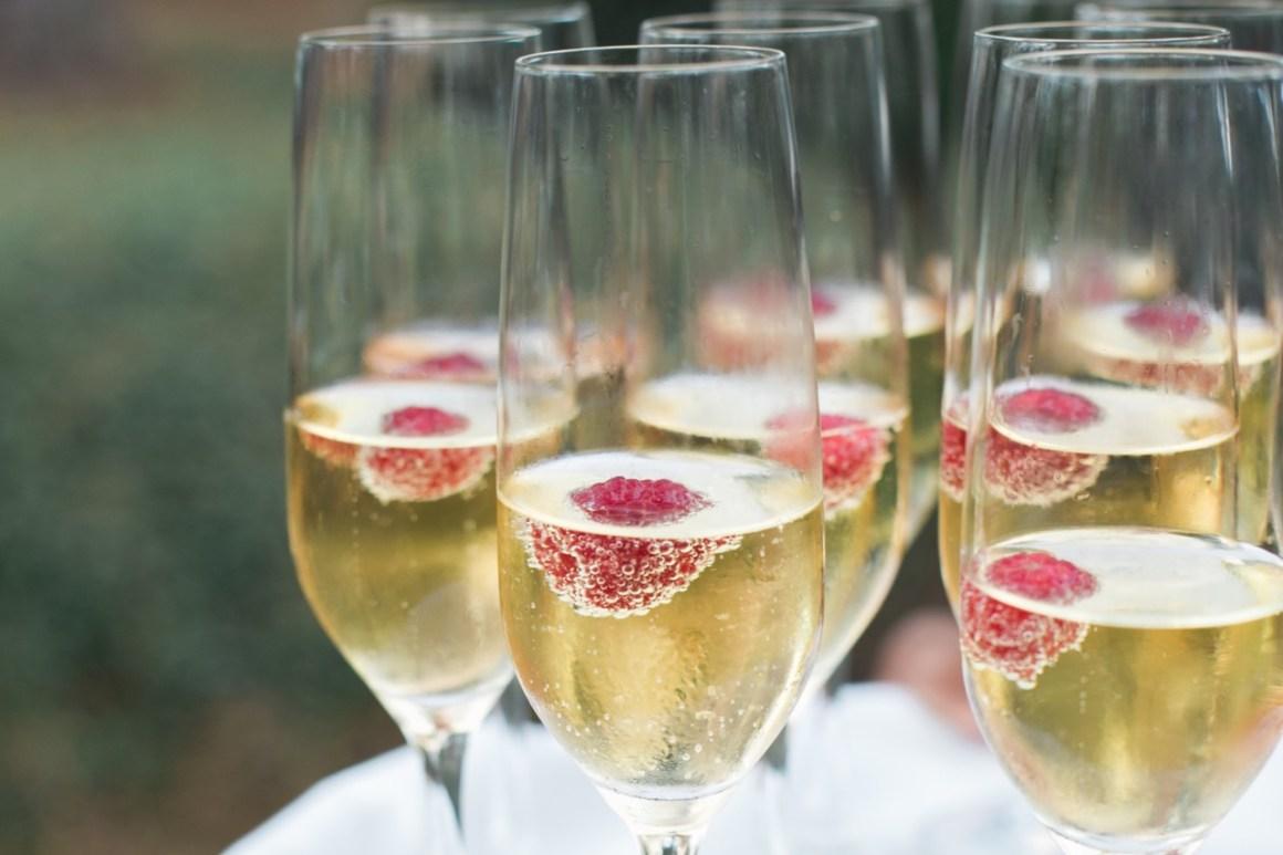 Embellished Events Butler served champagne ceremony wedding