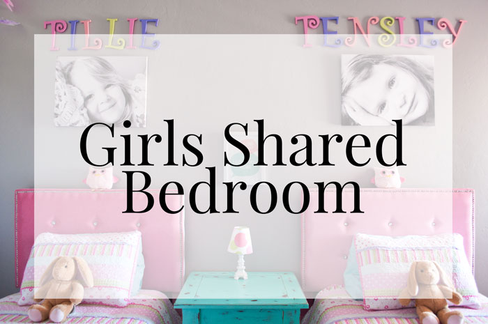 Home Tour - Girls Shared Bedroom