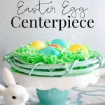 This Easter centerpiece is so simple and can be put together with things you likely already have in hour house.