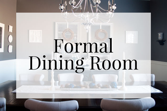 Take a tour of this contemporary style formal dining room!