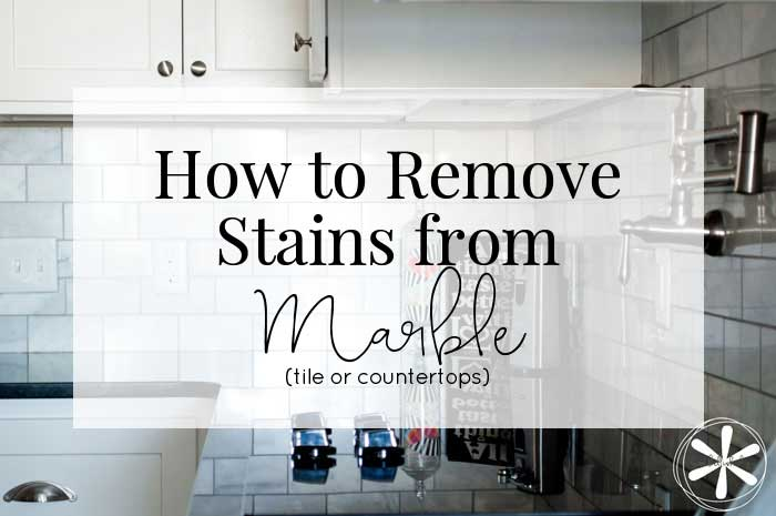 How to Remove Stains from Marble - embellish*ology