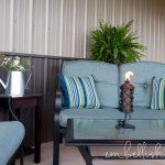 Barn Porch Seating Area
