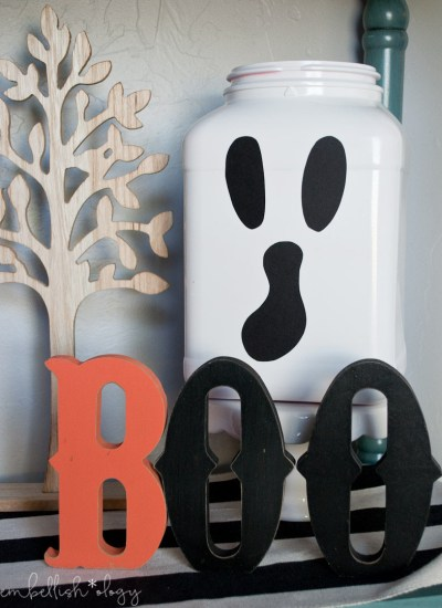 These spooky luminaries are cute and practically free to make!