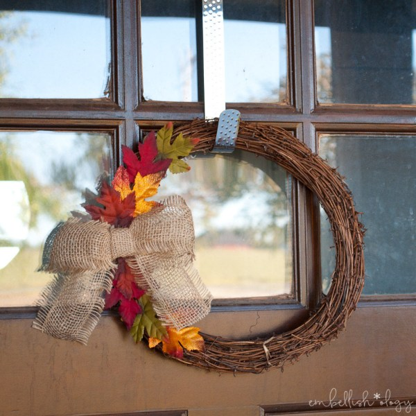 Give your guests a warm welcome with these 10 DIY Fall Front Door Decor Ideas.