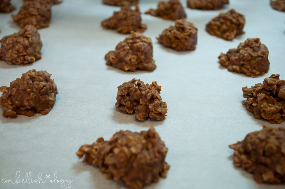 These easy 5 minute no bake cookies will surely satisfy your chocolate craving. They're so good it's hard to eat just one!