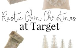Rustic Glam Christmas Decor at Target