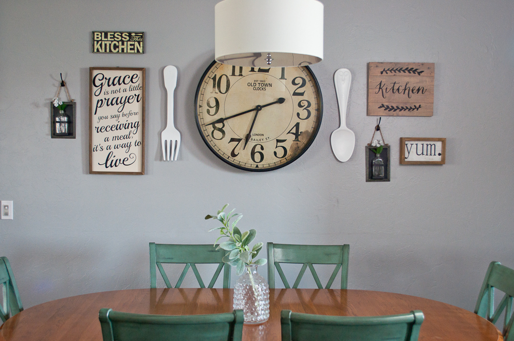 Rustic Chic Gallery Wall Reveal