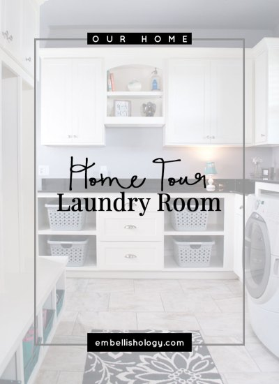 See how two rooms became one to make a beautiful utility/laundry room.