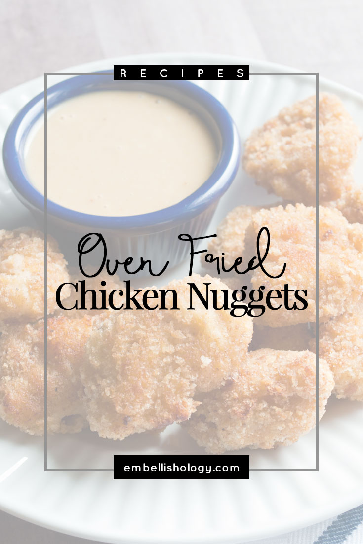 """These oven fried chicken nuggets are better than Chick-fil-a! - Tillie, age 6 -- These are by far our most favorite chicken nuggets. They are easy to make and freeze well!"