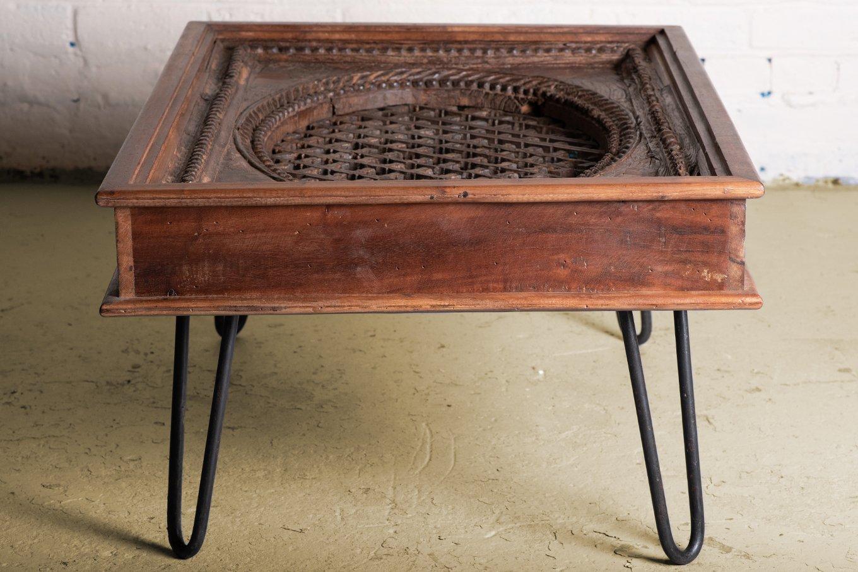 hamesha old window coffee table