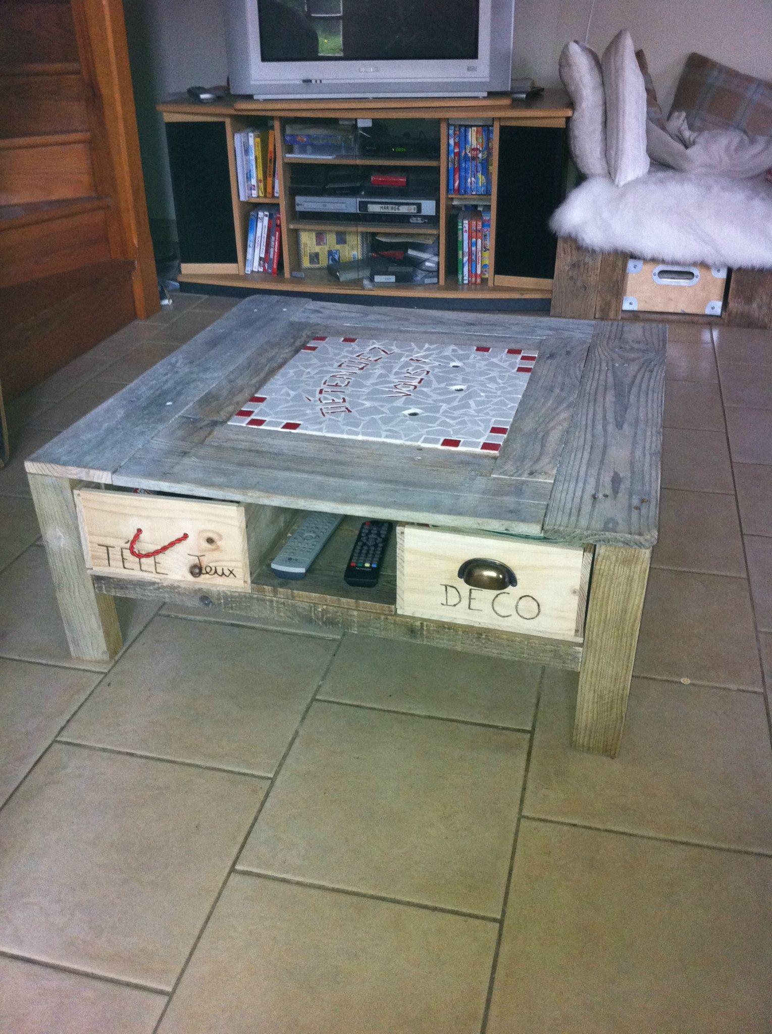 table basse palette et caisse de vin emberizaone fr