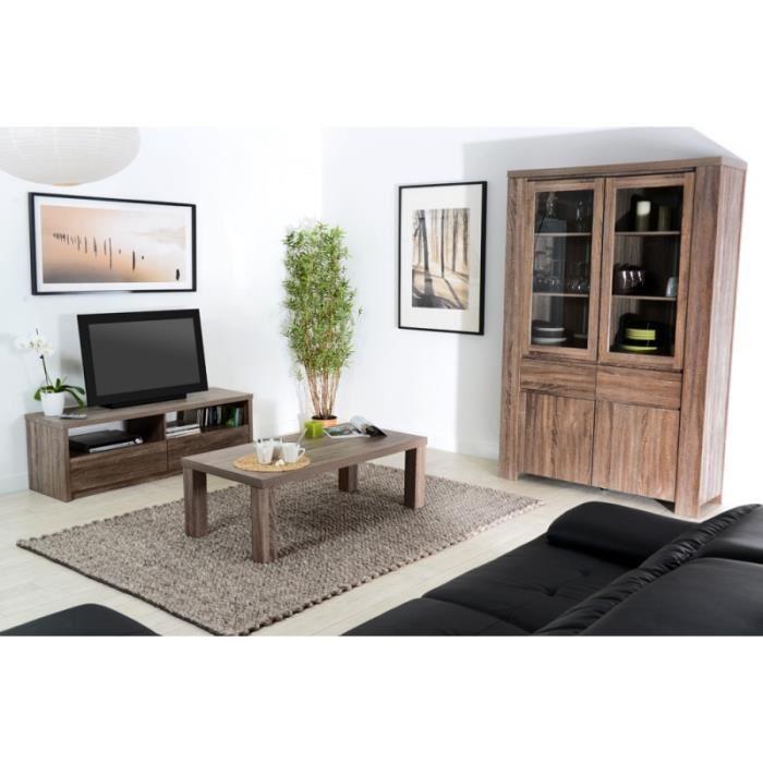 ensemble meuble tv table basse bois emberizaone fr