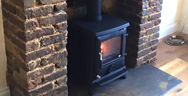wood burning stoves london