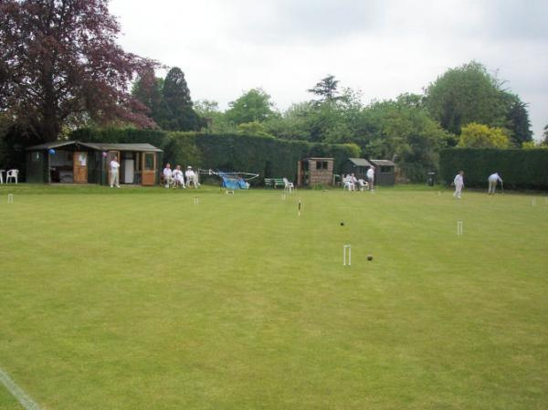 We have a vibrant and friendly Croquet Section.