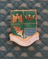 Ember B.C. Enamelled Pin Badge £1.50