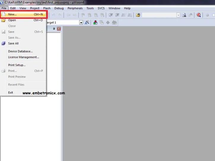 16-1 LPC2148 - Install Keil IDE