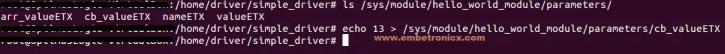 linux-device-driver-tutorial-passing-arguments-to-device-driver-echo Linux Device Driver Tutorial Part 3 – Module Parameter