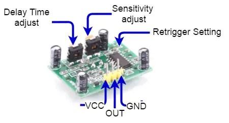PIR_Sensor-adjustment PIR Sensor Interfacing with PIC16F877A