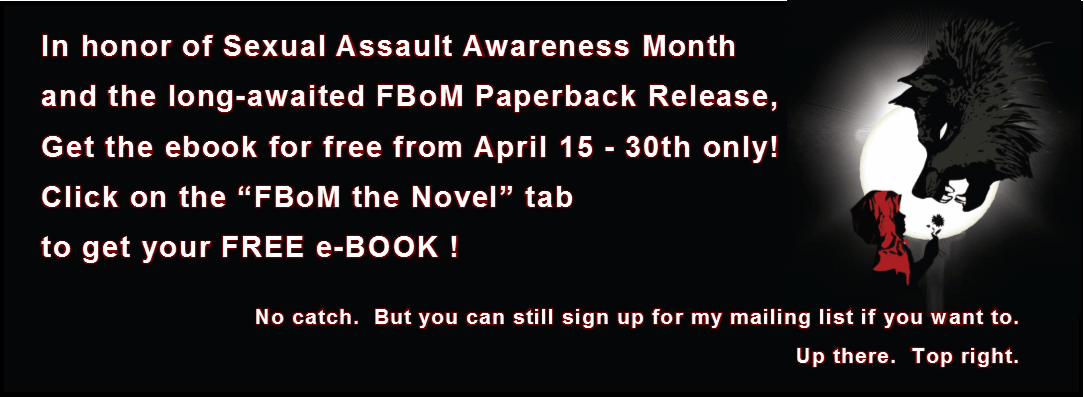 Sexual Assault Awareness Month – FBoM ebook is FREE