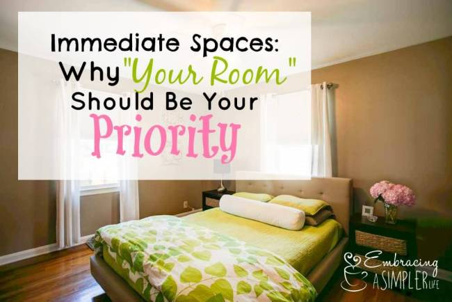 Why Your Room Should Be Your Priority